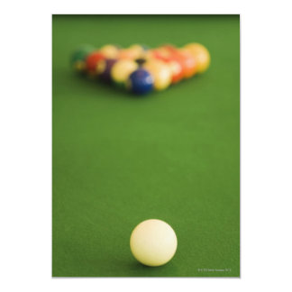 Pool Balls Personalized Invitations
