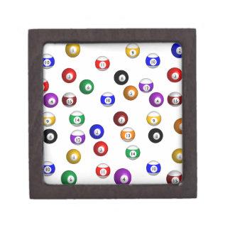 Pool Balls Jewelry Box