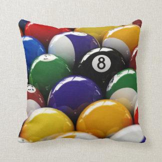 Pool balls pillows