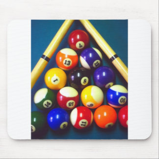 Pool Balls - Rack Em Up! Mouse Pad