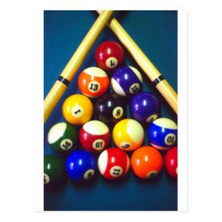 Pool Balls - Rack Em Up! Postcards