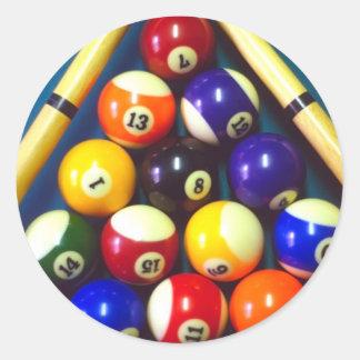 Pool Balls - Rack Em Up! Sticker