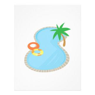 Pool  Base Custom Letterhead