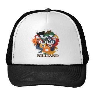 Pool Billiard Balls Hat