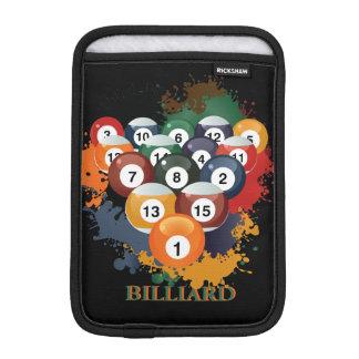 Pool Billiard Balls iPad Mini Sleeve