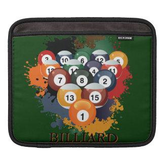 Pool Billiard Balls Sleeve For iPads