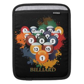 Pool Billiard Balls iPad Sleeve