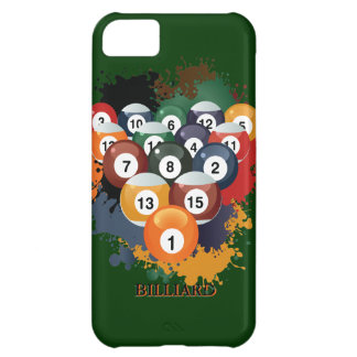 Pool Billiard Balls iPhone 5 c  Case iPhone 5C Covers