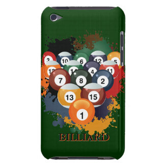 Pool Billiard Balls iPod Touch  Case iPod Case-Mate Case