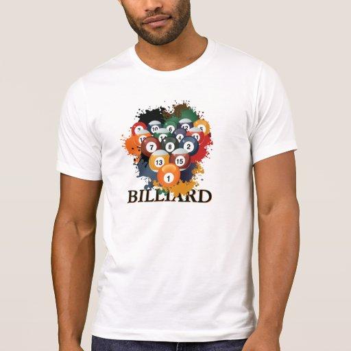 Pool Billiard Balls T-shirts