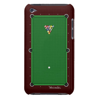 Pool Billiard Table iPod Touch Case
