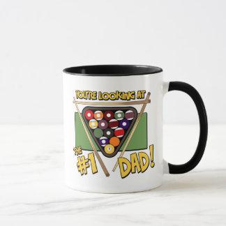 Pool/Billiards #1 Dad Father's Day Gift Mug