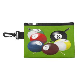 Pool / Billiards Clip On Accessory Bag
