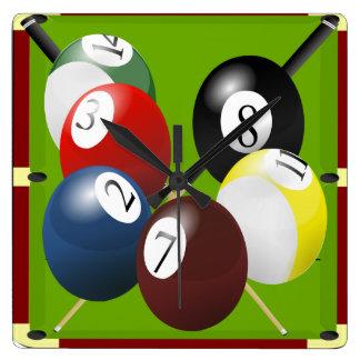 Pool / Billiards Clock