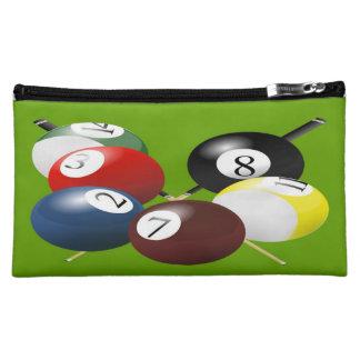Pool / Billiards Medium Cosmetic Bag