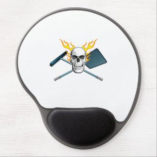 Pool Boy Skull Gel Mouse Mat