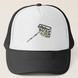 pool cleaning net trucker hat
