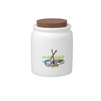 POOL CLEANING SUPPLIES CANDY JAR