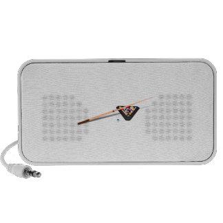 Pool Cue and Balls iPod Speaker