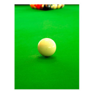 Pool Cue Ball Post Cards