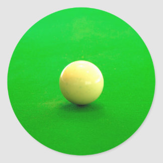 Pool Cue Ball Stickers