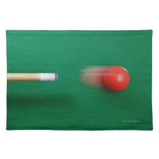 Pool Cue Cloth Placemat