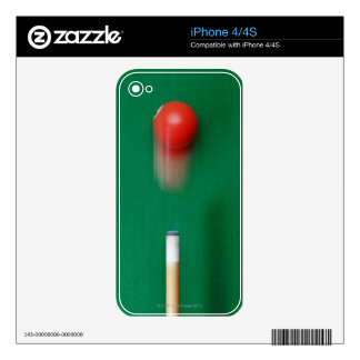 Pool Cue Decal For The iPhone 4S