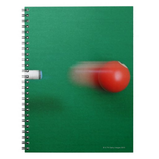 Pool Cue Note Book
