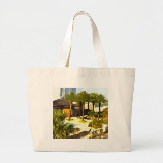 Pool Deck Large Tote Bag