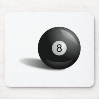Pool Eight Ball Mouse Pads