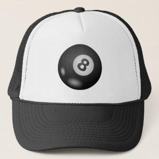 Pool Eight Ball Trucker Hat