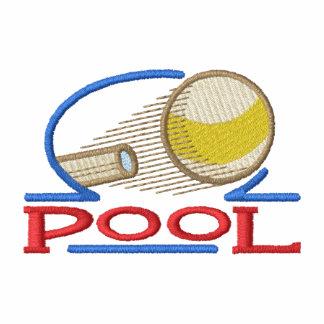 Pool Embroidered Polo Shirt