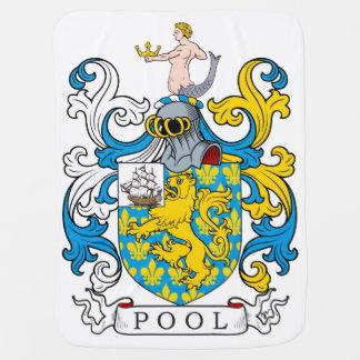 Pool Family Crest Stroller Blankets