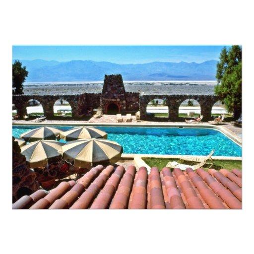 Pool, Furnace Creek Inn Personalized Announcement