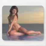 Pool Girl Reby Sky Mousepad