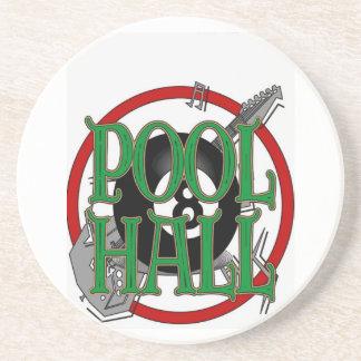 Pool Hall Sandstone Coaster