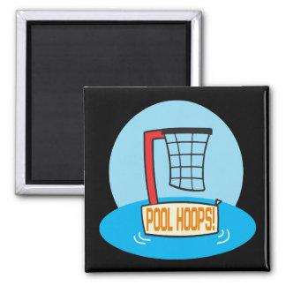 Pool Hoops Magnet