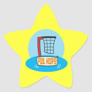 Pool Hoops Star Sticker