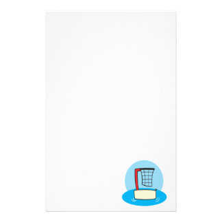 Pool Hoops Personalized Stationery