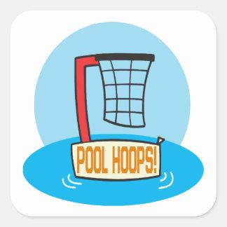 Pool Hoops Stickers