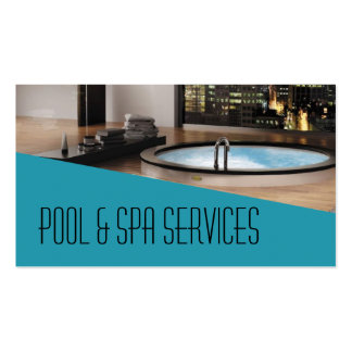 Pool Hot Tub Jacuzzi Installation Repair Business Card