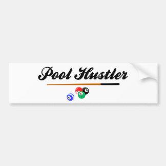 Pool Hustler Bumper Sticker
