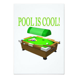 Pool Is Cool Card