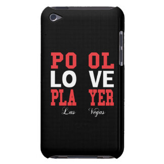 Pool Love Player Barely There iPod Cover