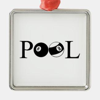 Pool Metal Ornament