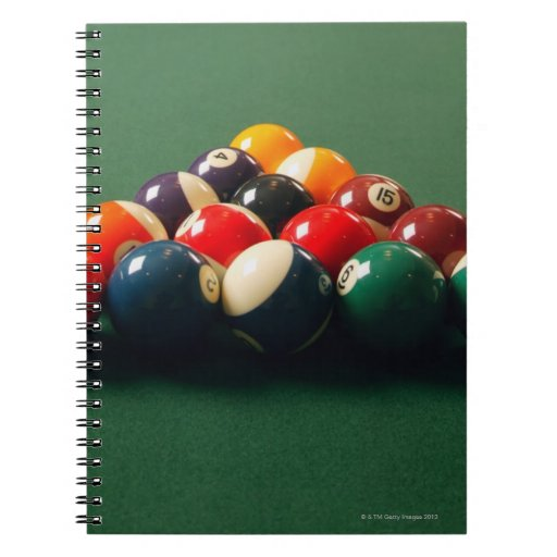 Pool Note Book