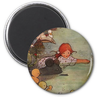 Pool of Tears 2 Inch Round Magnet