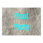 "Pool Party 5"" X 7"" Invitation Card"