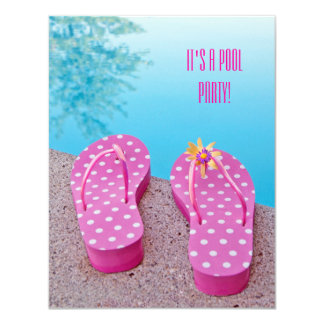 Pool Party Bash Card