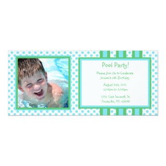 Pool Party Birthday Card